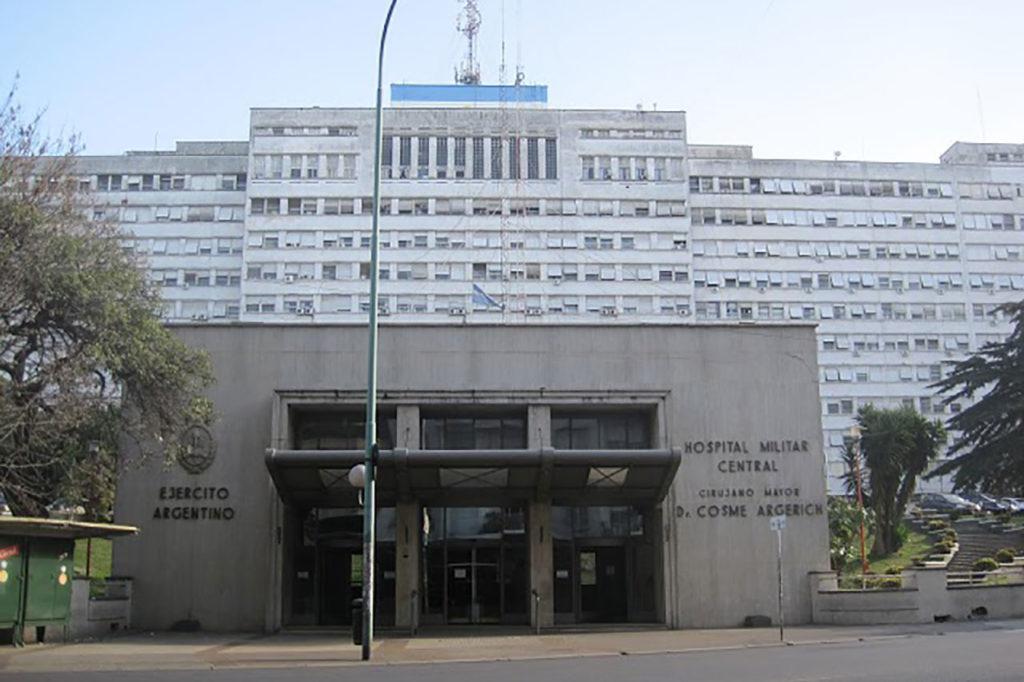 Foto de fachada de hospital Militar Central CABA